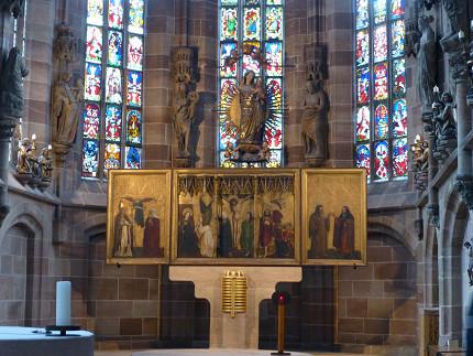 ニュルンベルク、フラウエン教会、観光、中央広場、仕掛け時計 (7).jpg